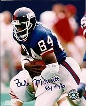 Autographed Signed Zeke Mowatt New York Giants 8x10 Photo - Certified Authentic