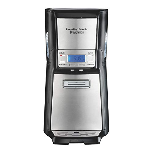 Hamilton Beach (48465) Coffee Maker with 12 Cup Capacity & Internal Storage Coffee...