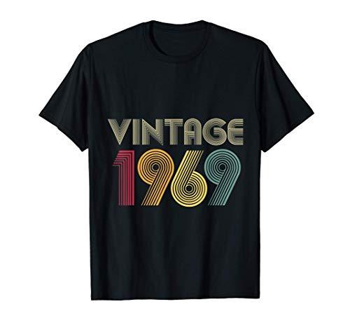 51 Cumpleaños Hombre Mujer 51 Años Vintage 1969 Camiseta