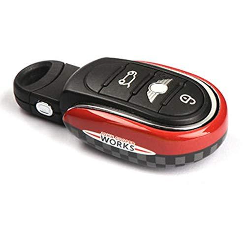 LEYUANA Car Styling Key Case Cover Chain,for BMW Mini Cooper S JCW One D F54 F55 F56 F57 F60 Car Accessories JCW