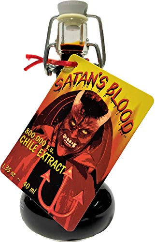 Satan s Blood Chile Pepper Extract Hot Sauce, 1.35 Ounce
