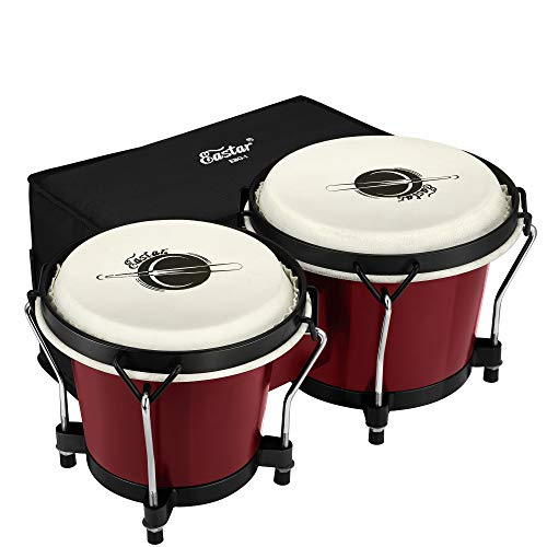 """Eastar Bongo Drums 6"""" and 7"""" Congas Drums for Kids Adults Beginners..."""