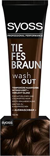 Syoss Wash Out Tiefes Braun Stufe 0, 2er Pack (2 x 150 ml)