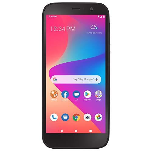 TracFone Blu View 2 4G LTE Prepaid Smartphone (Locked) - Black - 32GB - Sim Card Included - CDMA