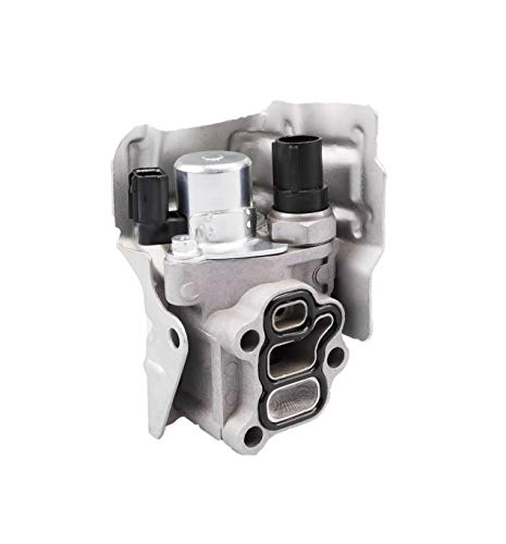 Tecoom 15810-RAA-A03 Spool Valve Body VTEC Solenoid Body with Timing Oil Pressure Switch and Gasket Compatible with Honda CRV CR-V Civic Element Accord Acura RSX