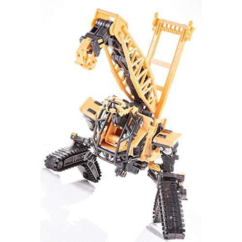 siyushop Transformers Juguetes, Robot De Deformación De Excavadoras, Robots De Rescate De Los Héroes, Robot De Deformación Deformado, Modelo De Deformación Manual Juguetes para Niños