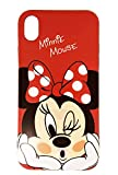 Onix Store Custodia in Silicone per iPhone X e XS con Minnie e Mickey,...