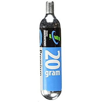 Genuine Innovations 20G Threaded Co2 Cartridge  20 Count
