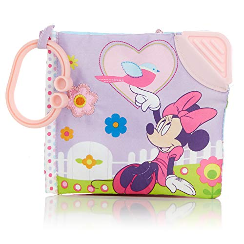 Disney Minnie Mouse Soft Book - Encourages Roleplay, Creativity, and Imagination - Safe and Asthma Friendly by Kids Preferred