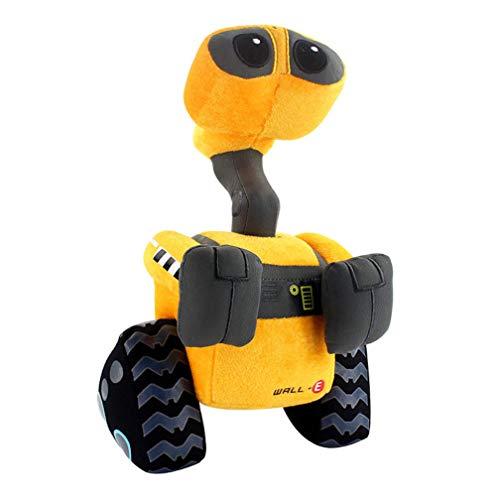 EASTVAPS Walle Robot de Peluche de Juguete Wall.E Muñeco de Peluche Regalo de cumpleaños de Navidad para niños 27 cm