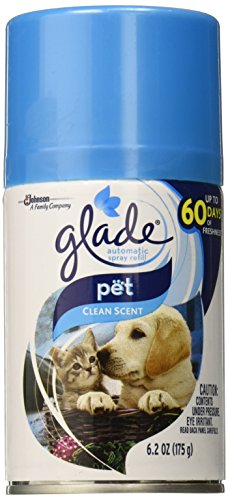 Price comparison product image Automatic Spray Air Freshener Refill,  Pet Clean Scent,  6.2 Ounce,  Packaging may vary