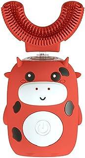 Orale Reiniging Kinderen hele mond elektrische tandenborstel 3 versnellingsmodus met siliciumdioxide borstelhoofden timing...