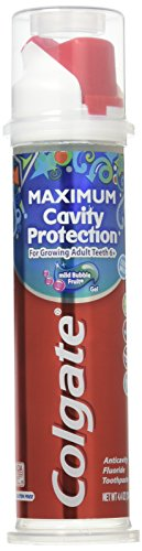 Colgate Kids Toothpaste with Fluoride Pump - Maximum Cavity Protection - 4.4oz