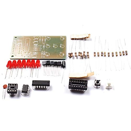 SenQing Elektronische Production Suite Elektronische Würfel DIY Kit 5mm Rote LED Interessante Teile NE555 CD4017 DIY-Kit