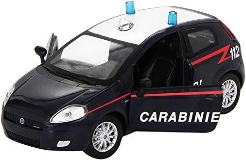 NewRay Fiat Grande Punto Carabinieri 112 Die Cast 1:24 Modello per Collezionisti
