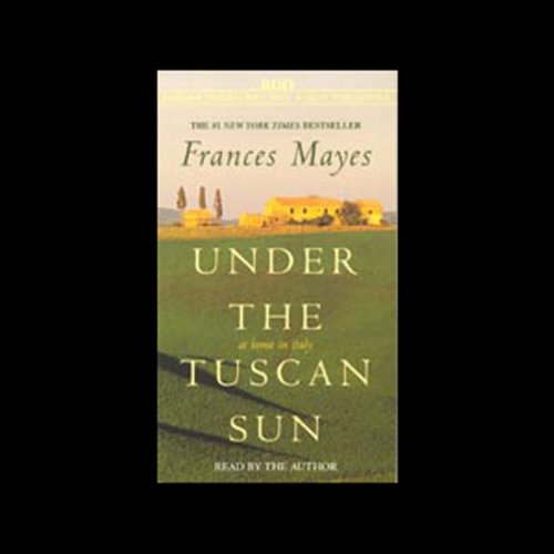 Under the Tuscan Sun audiobook cover art