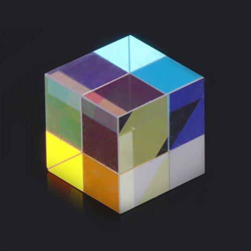 BIlinli Prisma IASER Beam Combine Cube Prisma Spiegel für 405nm ~ 450nm Blaue IASER Diode 5W