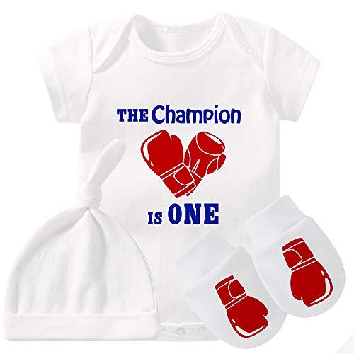 culbutomind Conjunto de ropa de bebé Twins Body Guantes de