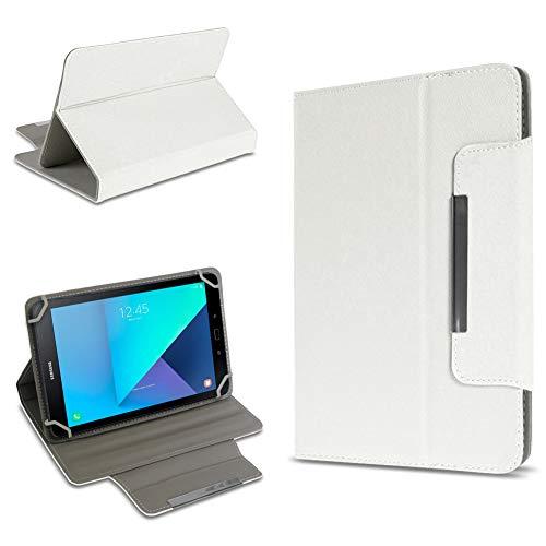 UC-Express Tablet Tasche kompatibel für Samsung Galaxy Tab Active 2 Hülle Tablet Schutzhülle Hülle Schutz Cover, Farben:Weiß