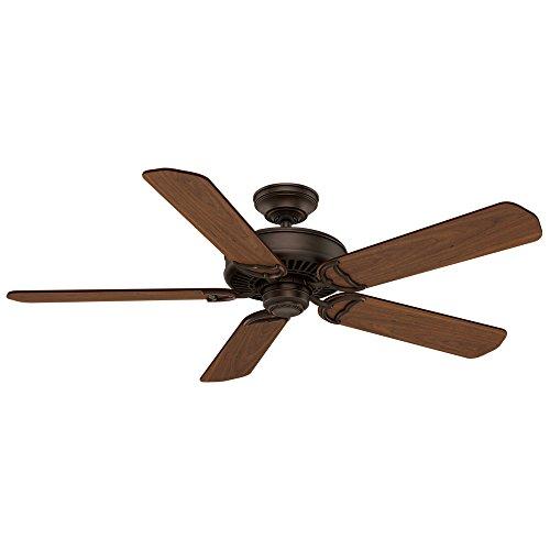 Casablanca Indoor Ceiling Fan, with wall control - Panama 54 inch, Cocoa, 55069