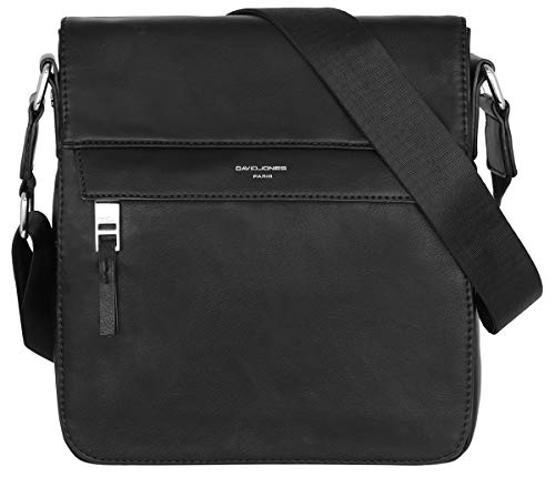David Jones - Sacoche Homme Style Cuir Véritable - Sac...