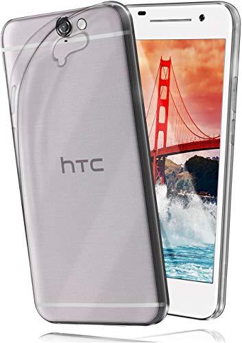moex Aero Hülle kompatibel mit HTC One A9 - Hülle aus Silikon, komplett transparent, Klarsicht Handy Schutzhülle Ultra dünn, Handyhülle durchsichtig einfarbig, Klar