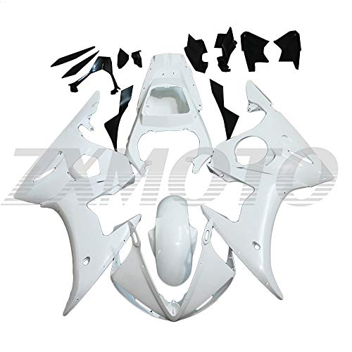 ZXMOTO Unpainted Motorcycle Fairing Kit for 2003 2004 Yamaha YZF R6 / R6S 2006 2007 2008 2009 ABS Plastic Full Body Fairing Kit