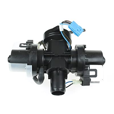 Spares2go Drain Pump for LG Washing Machines