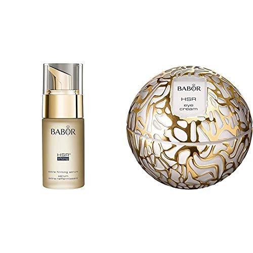 BABOR HSR Extra Firming Serum luxuriöses Anti-Falten Serum, 1er Pack (1 x 30 ml) & HSR Extra Firming Eye Cream, luxuriöse Anti-Falten Augen-Creme, 1er Pack (1 x 30 ml)