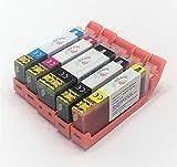 5 X Cartuchos Comestibles compatibles con Canon PGI-580 Y CLi-581. La tinta comestible no contiene Gluten. Comprobar compatibilidades antes de comprar