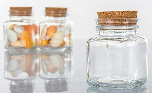 CONTENITORE ALZATINA PORTA CONFETTI in vetro con tappo EVENTI