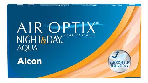 Alcon Air Optix Night and Day Aqua Monatslinsen weich, 3 Stück / BC 8.6 mm / DIA 13.8 mm / -2.75 Dioptrien