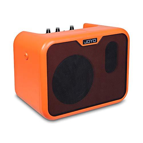 ZJH 10W Gitarren-Übungsverstärker, Akustikgitarren-Lautsprecherverstärker mit Zwei Tonkanälen für das Gitarrenspiel