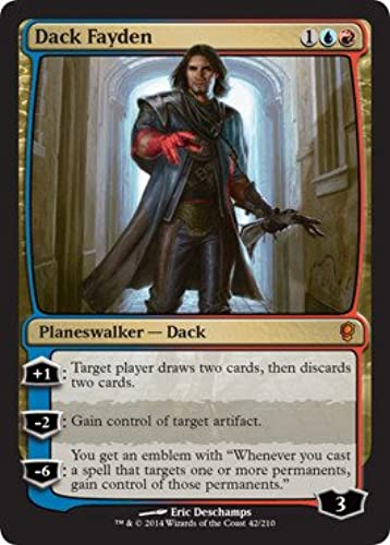 Magic  the Gathebague - Dack Fayden (42 210) - Conspiracy - Foil by Wizards of the Coast