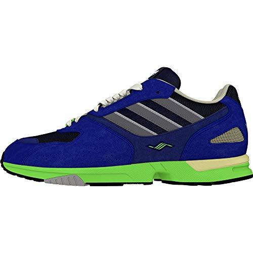 adidas Originals ZX 4000 - Zapatillas para hombre, color azul, Hombre, EE4765, azul, 40 2/3 EU