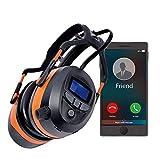 Bluetooth FM Radio Safety Ear Muffs Headphones for...