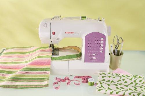 SINGER | Curvy 8763 Computerized Free-Arm Handy Sewing Machine