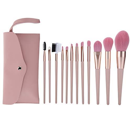 12 brochas de maquillaje para uso diario para el salón de niñas regalo