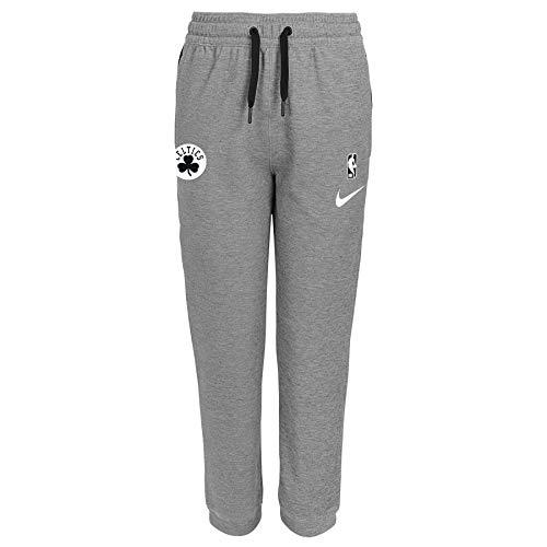 Nike NBA Big Boys Youth (8-20) Heathered Grey Showtime Pants, Boston Celtics Large (14/16)