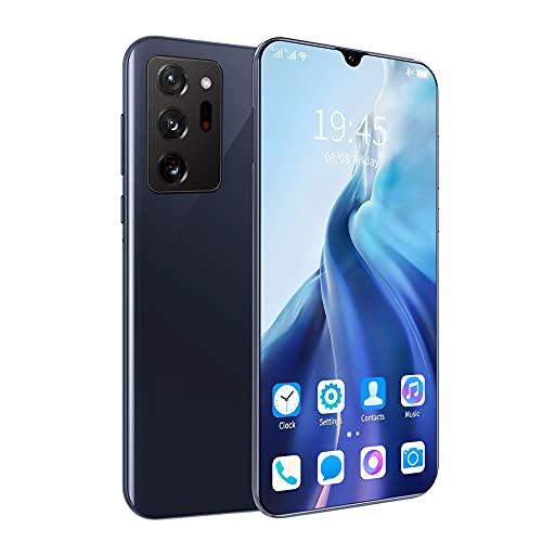 LINGOSHUN Smartphone,TeléFono MóVil Note30 Ultra,Batería de 2800 MAh,Doble SIM,CáMara Frontal de 2 MP,1 GB de RAM Y 8 GB de Almacenamiento en ROM/Negro / 6.3 inches