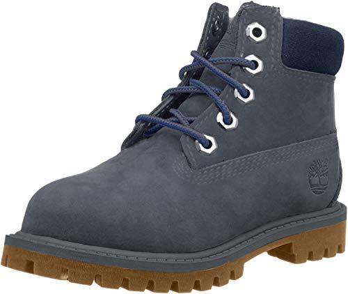 Timberland Classic FTC_6 in Premium WP - Stivali unisex, da bambino, EU 36, colore: Nero, Grigio (A1a72 Forged Iron), 31 EU
