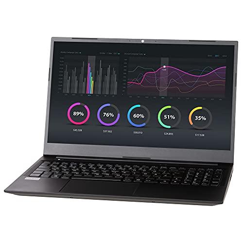 NEXOC Ordenador portátil Office (15,6 pulgadas Full HD) con Celeron N4120 (burst hasta 2,60 GHz), 250 GB SSD, 8 GB DDR4 RAM, sin Windows (N5 40 21V1).