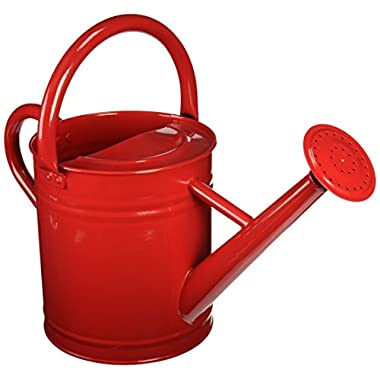 Gardener's Select AW3003P6PR Watering Can, Red, 3.5 L