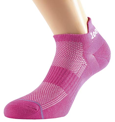1000 Mile Damen Lauf 1548 Trainereinlage Socks, Hot Pink, M
