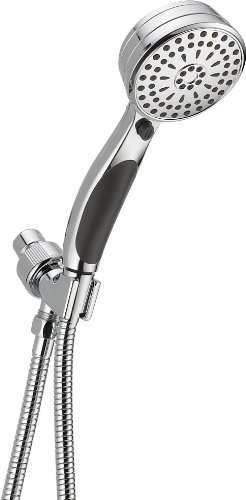 Delta Faucet 9-Spray Hand Held Shower Head with Hose, Chrome 54424-PK