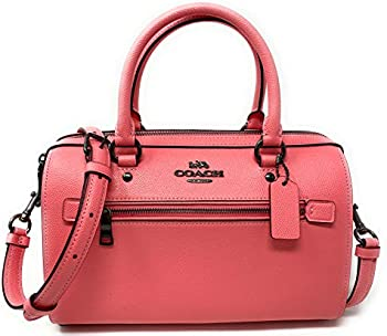 Coach Rowan Satchel In Signature Canvas (Pink, Gray or Black)