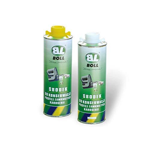 Boll 1000 ml Unterbodenschutz Konservierungsmittel Hohlraumversiegelung auf Wachsbasis Farbe: Weiß 0010101