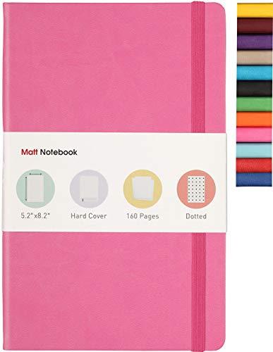 Matt Notebook   Klassisches Hardcover-Notizbuch zum Schreiben, Größe: 13