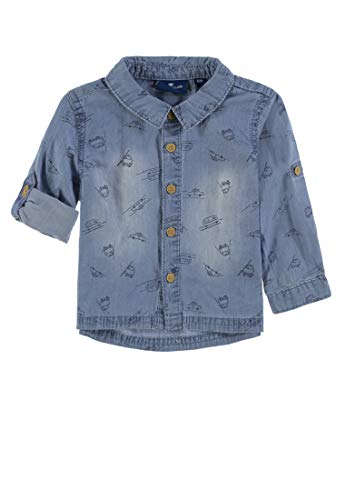 TOM TAILOR Kids TOM TAILOR Kids Baby-Jungen 1/1 Hemd, Mehrfarbig (Allover|Multicolored 0003), 68