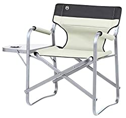 Sit Back and Relax: Comfortable foldable outdoor chair with convenient side table with integrated cupholder which allows you to keep all essentials nearby Lightweight and Durable Chair: The sturdy but lightweight foldable chair holds up to 113 kg and...